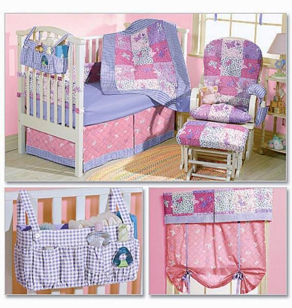 Baby Nursery Essentials Pattern - Baby Quilt Pattern - Rocker ...