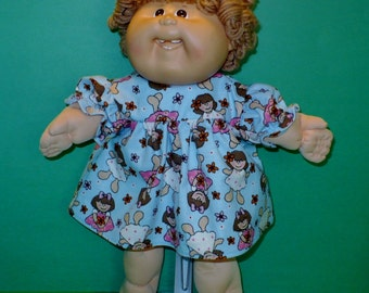 16  inch Cabbage Patch Kid Flannel Nightgown