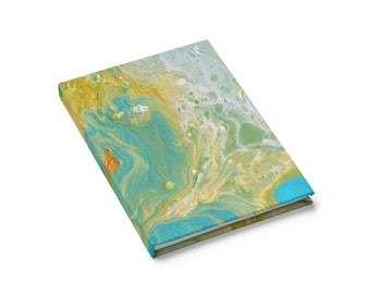 Treasure Island Journal Notebook Writing Pad For School Personal Diary Records Creative Endeavours Original Fine Art Acrylic