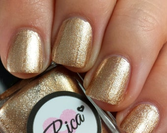 Gold Digger (custom hand crafted nail polish)