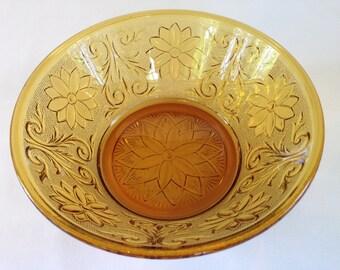 Indiana Glass Company Sandwich Pattern Bowl