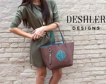 Monogrammed Handbag, monogram handbag, monogram tassel bag, monogrammed bag, monogram bag, monogrammed tassel bag, personalized handbag