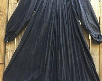 Reserved for Vanessa...Vintage 70's Indian gauze dress