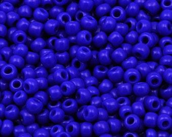 11/0 TOHO beads * Opaque NAVY blue *-TR-11-48-beads, 2.2 mm-10 g