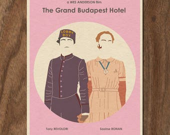 The Grand Budapest Hotel Wes Anderson Limited Edition Print