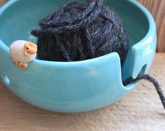 Handmade Sheep Yarn Bowl - Custom Made 4-6 Weeks- Winter Gifts