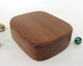 Reclaimed Old Growth Redwood Box, jewelry box, pet urn, wedding anniversary, gratitude box, wood art, office desk organizer, small pet urn