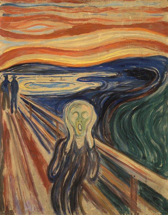 Resultado de imagen para el grito de munch