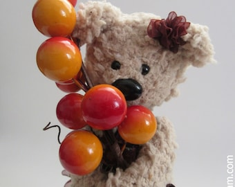 Emily the Teddy Bear - jointed