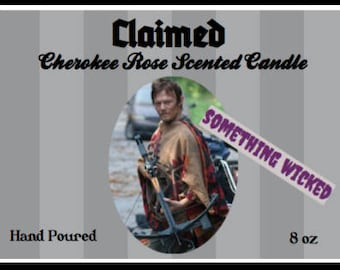 Walking Dead Daryl Dixon Inspired Candle