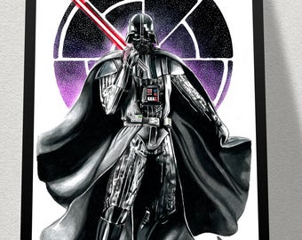Limited Edition Print - Darth Vader