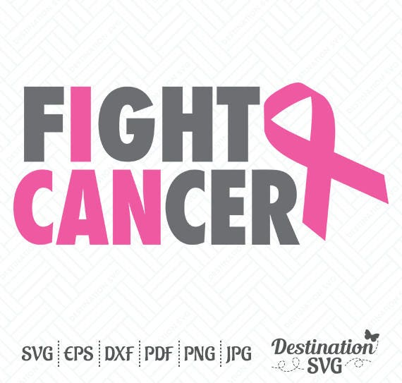 Download Fight Cancer SVG Files Breast Cancer Awareness Cutting Files