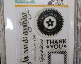 STAMP DESTASH- Simon Says Stamp You Can Do Anything Stamp Set