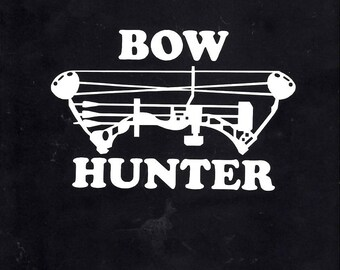Hunting Bow Hunter decal sticker - 391
