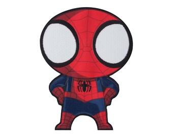 Patch pour enfants Spiderman fer sur Applique, véritable merveille fer sur Patch, Patch de Spiderman, Spiderman Applique, Applique de super héros,