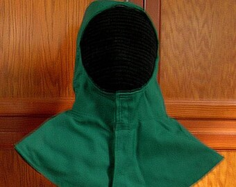 Undermask Fencing Hood - Stock Colors - SCA Rapier Armor - Arming Cap