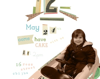 CUSTOMISED PARTY INVITATIONS