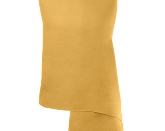 Gold Handmade 100% Pure Cashmere Shawl Wrap Scarf - Pashminas and Wraps - Also available In 36 Other Colours