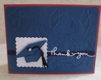One Graduation Thank You Card