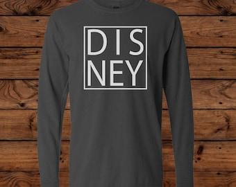 Disney - Comfort Colors Youth Long Sleeve T-Shirt - Disney Vacation