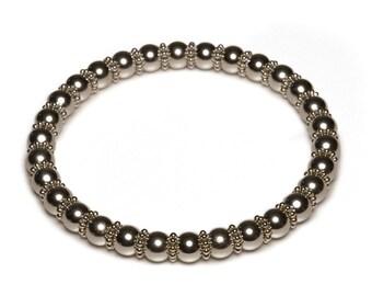 Platinum Edition Zen Magnetics Bracelet
