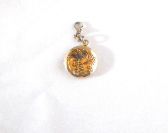 Baby Infant Gold Filled Round Petite Locket