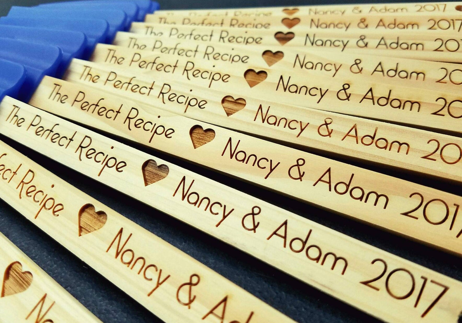 Set Of 20 Personalized Wedding Favors Engraved Wedding Party