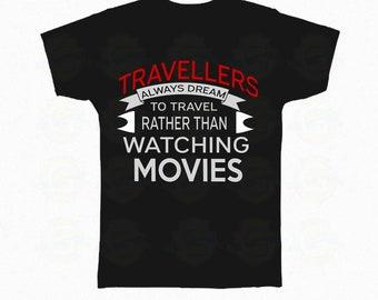 "I Love Travel ""Travellers always dream"""
