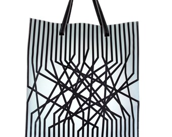 Tote gradient connected Double strap