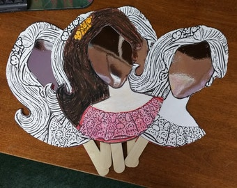 Elena of Avalor Mirror Craft!  Set of 5!