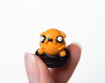 Orange Creature Mini Figurine
