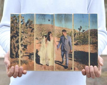 Wedding Gift • Couple Portrait • Personalized Wood Photo • Photo to wood • Photo Gift • Wooden Anniversary Gift • Anniversary Photo on Wood