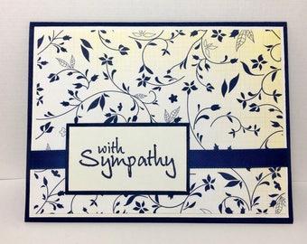 Sympathy Card, Condolence Card, Handmade Sympathy Card, Handmade Condolence Card