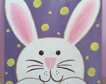 Cute Bunny Canvas