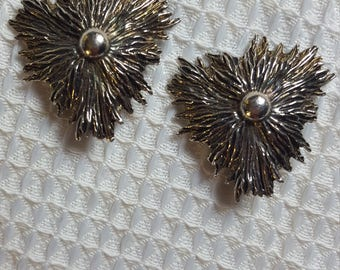 Vintage Metal Gothic Steampunk Clip On Earrings