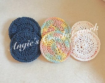 Double sided dish scrubby's
