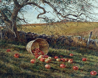 Apple Basket by David Armstrong
