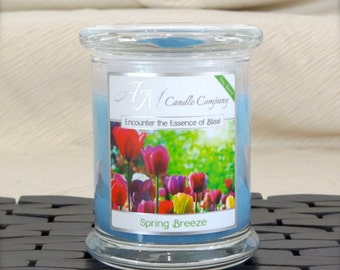 Spring Breeze - Highly Scented Soy Candles by AM Candle Company