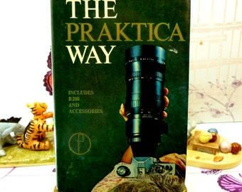 The Praktica Way Vintage Camera Hardback Book includes B200 and accessories Photographers Companion Guide