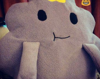 Adventure Time inspired LSP plushie Lumpy Space Princess
