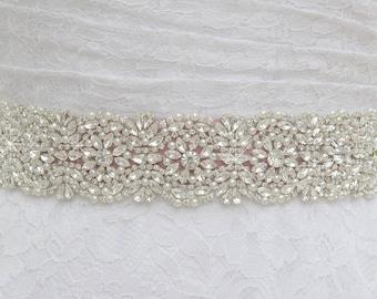 high quality wedding dress sash