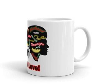 Black Love Mug