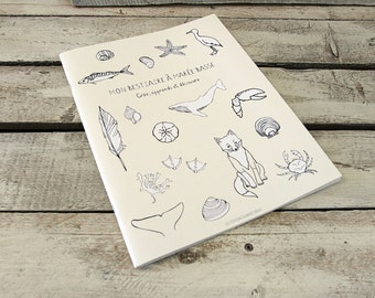 COLORING BOOK my bestiary at low tide