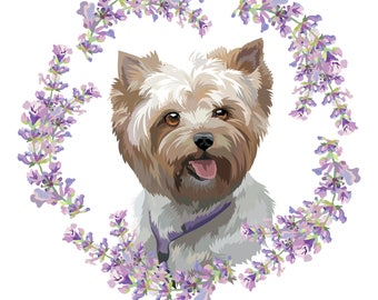 Custom Pet Portrait, Dog Portrait, Personalised Gift, Portrait Drawing, Custom Gift, Portrait Painting, Custom Illustration, Gift, Pet