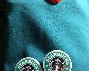 STARBUCKS Star Bucks Coffee LOGO Clog Shoe Charms