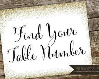 Find Your Table Number Wedding Sign, Rustic Wedding, Wedding Sign, Wedding Number Sign Printable, Wedding Number Table Sign