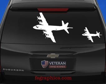 P-3 Orion - Angle 1 - Vinyl Decal / Sticker
