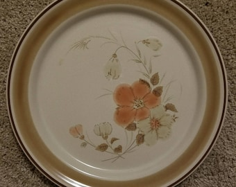 Hearthside Dinner Plate in Water Colors