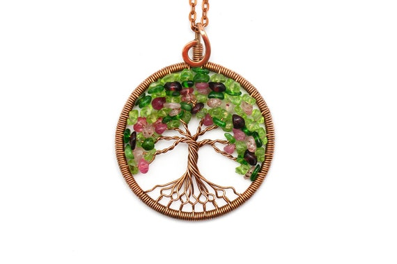 Tree Of Life Necklace Pendant Tree Of Life Jewelry Family Tree