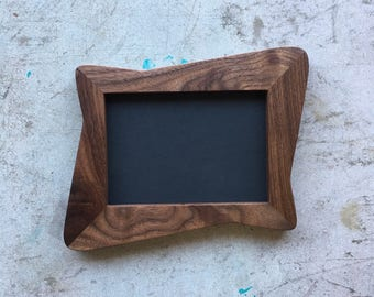 Atomic Picture Frames, Walnut Mid Century Modern Picture Frames Made To Order